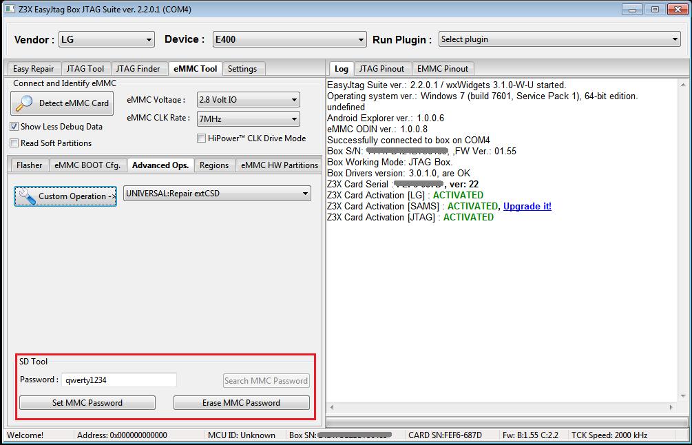 تمامی اپدیت های Z3X EasyJtag در این تاپیک - آموزش باکسهای