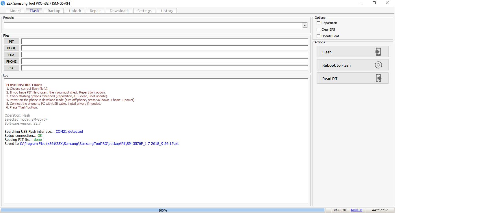 مشکل بوت گوشی sm-g570f j5 prime - سوالات نرم افزاری - جی اس ام دولوپرز
